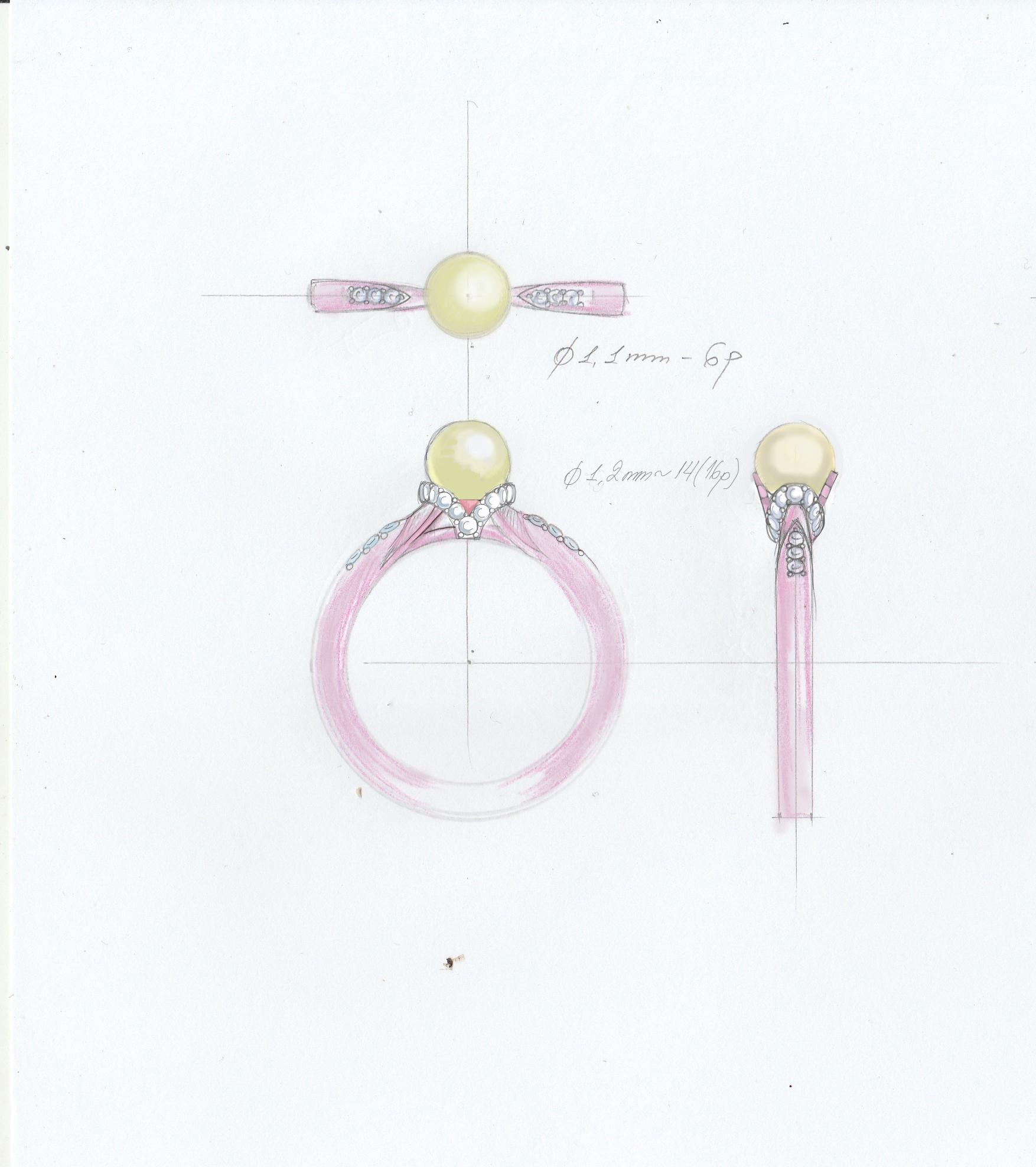FENIX YAN   118 -latest RING,Statement Ring design 2021