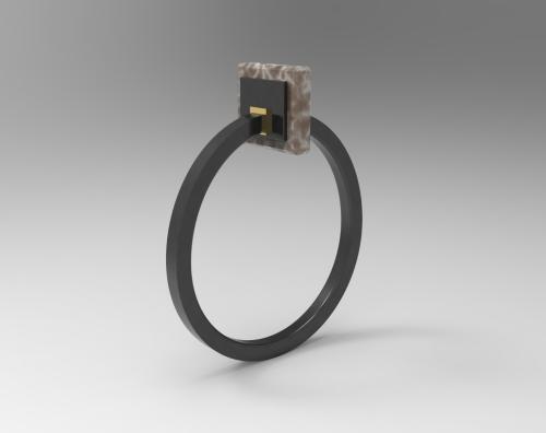 Pierluigi Difrance | MARBLE DREAMS Ring 134-latest  RING,Band Ring design 2021