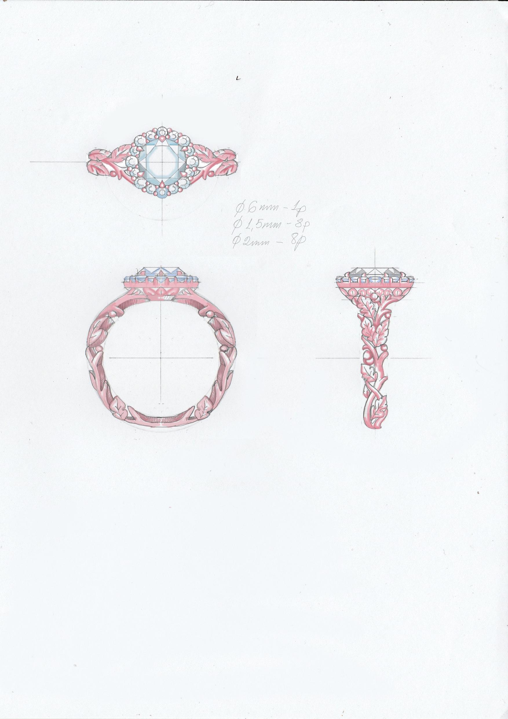 FENIX YAN | 121 -latest RING,Statement Ring design 2021