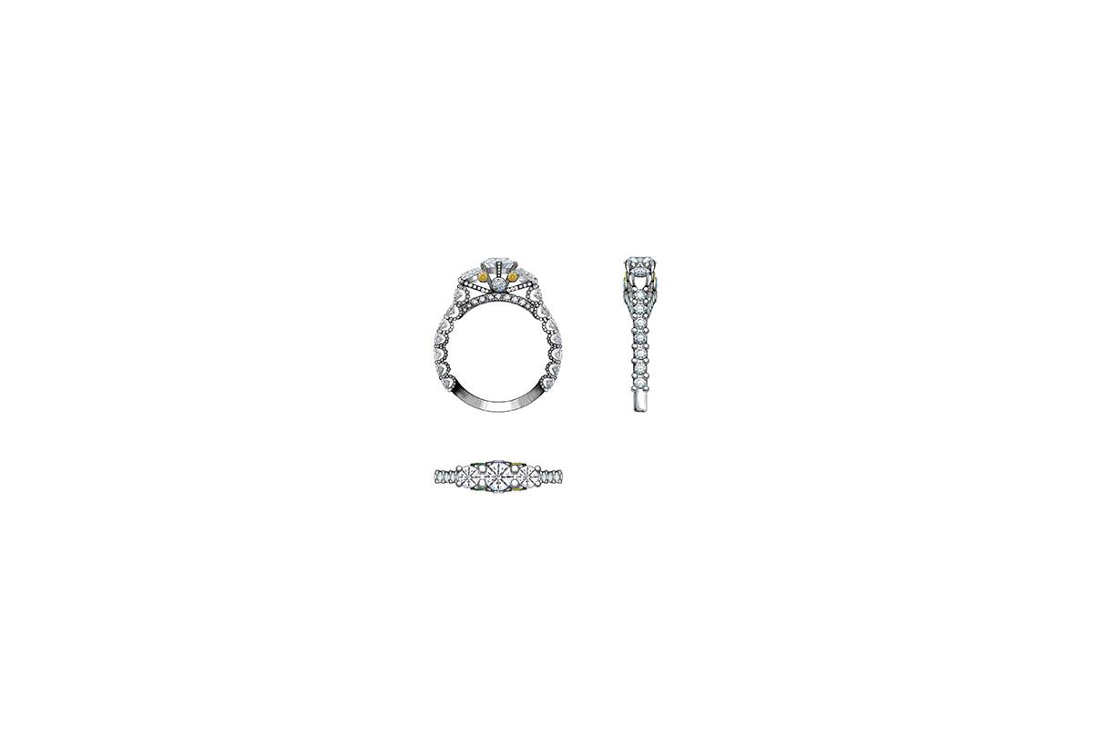 FENIX YAN   124 -latest RING,Statement Ring design 2021