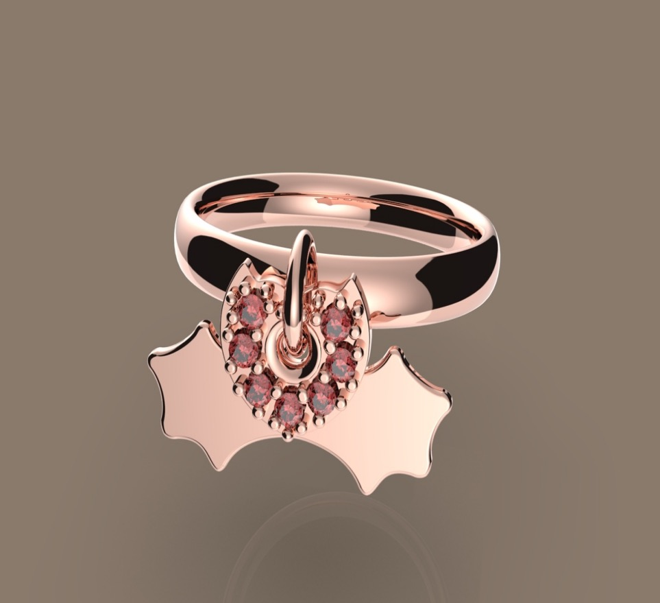FLYING NAUGHTY -latest RING,Statement Ring design 2021