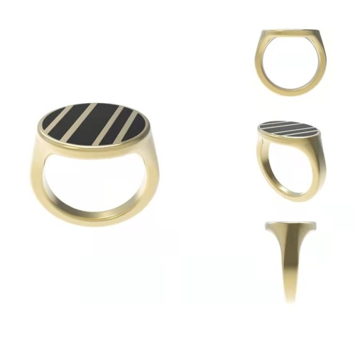oval signet ring-latest   design 2021