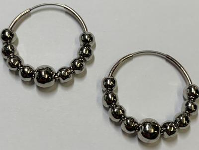 Alchemy Aura + | Molded Metal Hoop Earrings-latest EARRING design 2021