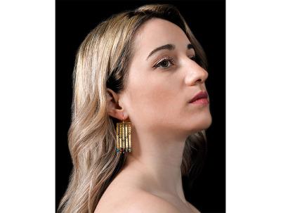 ARVANITIDOU CHRYSOVALANTI | Ancient Greek earrings-latest EARRING design 2021