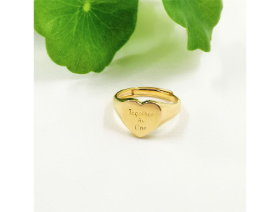 Delis & Co. Jewellery | Heart Ring-latest RING design 2021