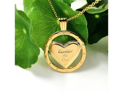 Delis & Co. Jewellery | Heart Necklace-latest NECKLACE design 2021