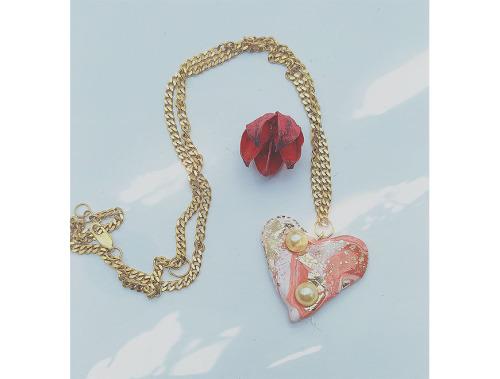 Simonetta Cesari | Teneress Heart Pendant-latest   design 2021