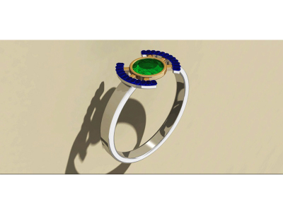 David Pilato | Silver Eye-latest RING design 2021