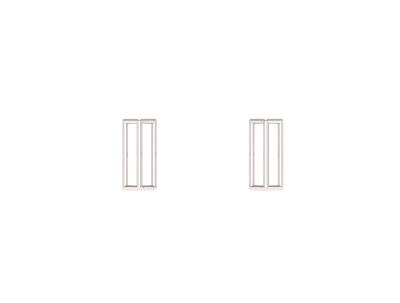 Davis Jillian | Prism Studs-latest EARRING design 2021
