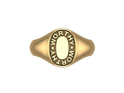 Davis Jillian | Worthy Signet Ring-latest NECKLACE design 2021