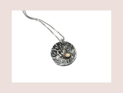 Hestness Anne Lise | Moon Opal necklace-latest NECKLACE design 2021