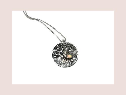 Hestness Anne Lise | Moon Opal necklace-latest   design 2021