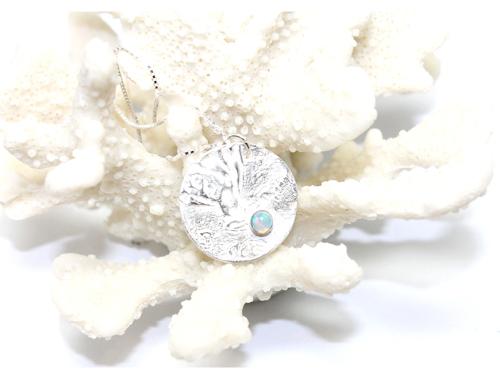 Hestness Anne Lise | Moon opal necklace shiny-latest   design 2021