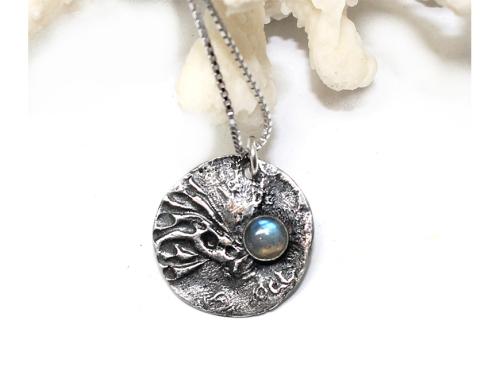 Hestness Anne Lise | Moon Labradorite necklace-latest   design 2021