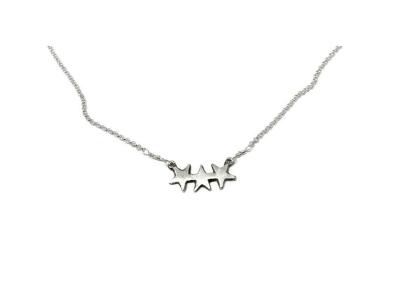 Hestness Anne Lise | 3 stars necklace-latest NECKLACE design 2021