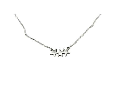 Hestness Anne Lise | 3 stars necklace-latest   design 2021