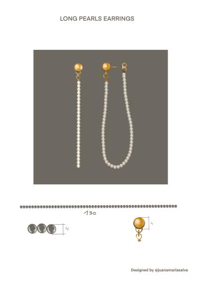 Long Pearl Earings-latest EARRING design 2021